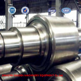 SAE4140 SAE4340 Steel Shaft Roller for Rubber Mill Die Forging