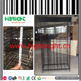 Multi Tiers Wire Mesh Card Display Rack for Flooring Board