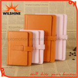 High Quality PU Leather Notebook with Lock for Office Supply (PUN407)