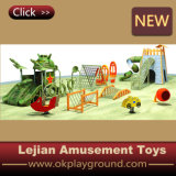 Plastic Kids Entertainment Tank Climber Design for Children with Certificate