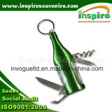 Multifunctional Promotion Gift with Keychain and Knife