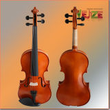 Red Brown Entry Level Violin with White Edging