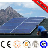 Small Portable Home Solar Power System with Light, Charge, Solar Panel Battery