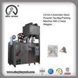 Automatic Nylon Triangle Tea Bag Packing Machine with Inner and Outer Envelop
