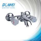 Bath Mixer: Double Handle; Brass Body; with Divisor Bm 56901