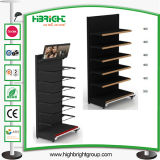 Supermarket Gondola Single Side Wall Shelf