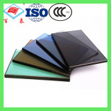 3mm 4mm Tempered Dark Grey Color Heat Float Double Glazed Insulating Glass Price