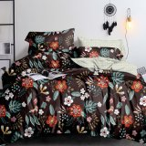 Wholesale Bed in a Bag Comforter Sets, Cheap Microfiber Bedding Set for Home Use Duvet Cover Set 1PC