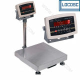 Mild Steel or Stainless Steel LED/LCD Display 500kg Weighing Scale