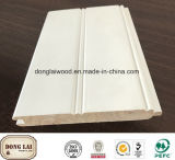 OEM Waterproof White Primed Wooden High Quality Competitive Price Wood Wall Panel for Flooring Accessories