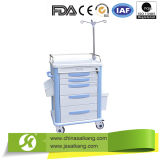 China Online Shopping Simple ABS Anaesthetic Trolly