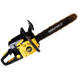 Ce and EUR2 Approval High Quality 52cc Gasoline Chainsaw