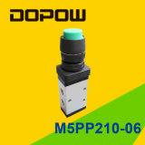 M5PP210-06 Latching Manual Mechanical Valve 2 Position 5 Way