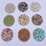 Best Quality Flower Rhinestone Sticker Crystal Applique for Bags Shoes Decoration