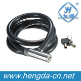YH1415 Anti-Theft Steel Cable Lock Protect Bike Bicycle Children Lock