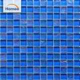 Malaysia Mix Blue Color Swimming Pool Crystal Glass Mosaic