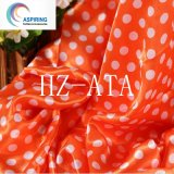 Polyester Printed Satin Fabric for Home or Garment Textile