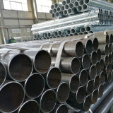 Q235B Q345B ERW Black Round Steel Welded Pipe
