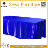 Fitted Rectangular Polyester Tablecloth, Full Color Party Table Cover