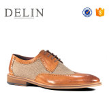 New Fashion Design Men Genuine Leather Dress Shoes