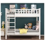 Factory Direct Sale Simple Modern Solid Wood Student School Dormitory Bed Bunk Bed