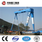 Heavy Duty Boat Handling Rubber Tire Gantry Crane for Shipyard