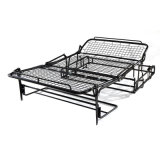 Black Color Oil Painting Metal Sofa Bed Mechanism Iron Furniture Frame