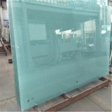 4-12mm Acid Etched Glass for Shower Room / Office Wall