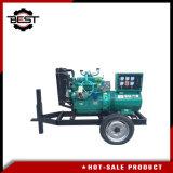 Good Quality Trailer Diesel Generator 30kw/37.5kVA Diesel Genset Diesel Power