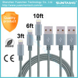 Wholesale Nylon Line USB Sync Data Cable for iPhone6 6s 7