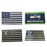 Wholesales Cheap Custom Large Screen Printing 3X5 FT NFL Football Sport Team Flags