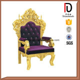 King Queen Antique Throne Chairs (BR-K194)