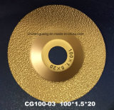 125mm Diamond Cutting Disc for Grinding of Cast Iron Parts and Metal Profile