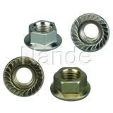 Hex Nut With Flange(DIN6923)