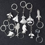 New Alloy Hot Metal Airplane Keychain with Stocks Price