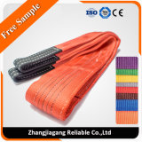 Polyester Synthetic Flat Web Lifting Sling with Reinforced Eyes