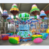 Funfair Outdoor Carnival Rides Amusement Games Happy Jellyfish Play Equipment