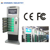 6 Lockers Top Remote Video Screen Charging Locker with WiFi