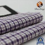 100d High Stretch Yarn Polyester Plaid Fabric for Garment