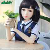 Jarliet Small Breasts Realistic TPE Silicone Love Mini Sex Doll Adult Toy for Man
