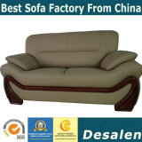 China Exporting Wholesale Price Home Furniture Leather Sofa (A006)