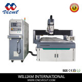 Aluminum/PVC/Acrylic/Wood Auto Tool Change CNC Router CNC Engraving and Cutting Machine