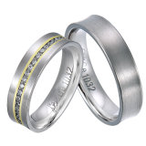 Wholesale Titanium Couple Engagement Wedding Rings for Women