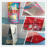 Zd-600zl Automatic Plastic Stand up Zipper Pouch Bag Making Machine
