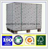 125g Best Price Wood Pulp White Top Testliner Paper Board in Sheet