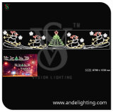 Christmas Snowman Motif Light LED 2D Street Light