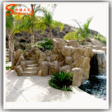 Garden Water Fountain Ornamental Stone Rockery for Garden