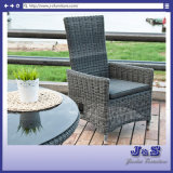 Antique Outdoor Garden Furniture, Round Table & Adjustable Chair Set (J0331-R)