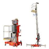 4m 6m 8m 10m 12m 14m Mobile Type Aluminum Alloy Hydraulic Single Mast One Man Aerial Work Platform Lift
