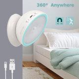 360 Degree Rotation LED Motion Sensor Night Light USB Operated/Battery Operated Corridor Wall Lamp Cabinet Closet Wardrobe Light